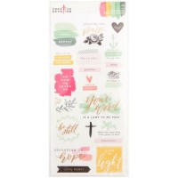 Стикеры Matte Scripture Creative Devotion от American Crafts