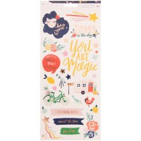 Стикеры Dear Lizzy Star Gazer Accents & Phrases Foil