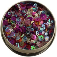 Пайетки 28 Lilac Lane Tin - Mixed Berry от Buttons Galore
