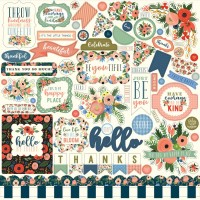 "Стикеры Flora No. 2 Cardstock Stickers 12""X12"""