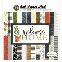 Набор бумаги Welcome Home 15*15 см от Carta Bella