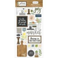"Чипборд Welcome Home Chipboard Accents 6""X13"""