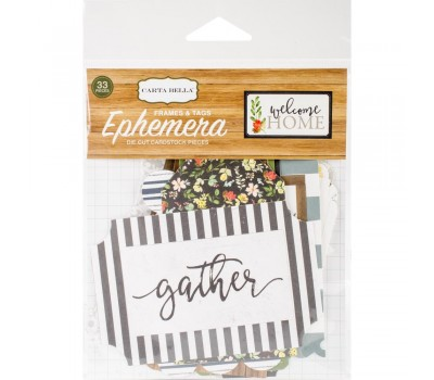 Высечки Welcome Home Frames & Tags от Carta Bella