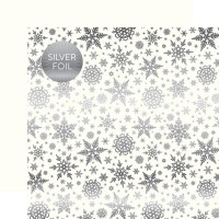 Кардсток White Winter Wonderland от Carta Bella