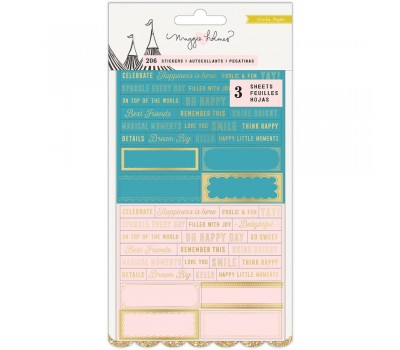 Стикеры Carousel Clear Stickers от Crate Paper