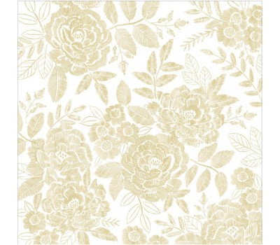 "Веллум Maggie Holmes Willow Lane Vellum 12""X12"" Golden W/Gold Foil Accents - Crate Paper"