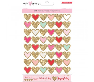 """Стикеры Main Squeeze Waterfall Stickers 4.8""""X8"""" 2/Pkg от Crate Paper"""