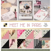 Набор бумаги Meet Me In Paris 30,5*30,5 см от DCWV