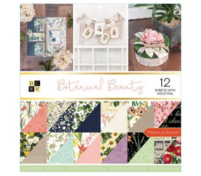Набор бумаги «Botanical Beauty» - 30.5х30.5 см - DCWV