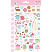 Стикеры Mini Icons Cream & Sugar 2 листа - Doodlebug