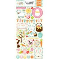 "Чипборд Hello Easter Chipboard 6""X13"""