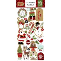 "Чипборд Celebrate Christmas Chipboard 6""""X13 - Accents -  Echo Park Paper"