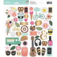 Стикеры Girl Squad Cardstock Stickers от Pebbles