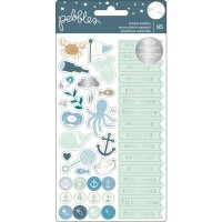 Стикеры Night Night Baby Boy - Repeat Stickers от Pebbles