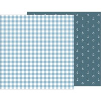 Лист бумаги Night Night Baby Boy - Blue Blankie от Pebbles