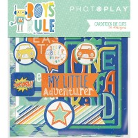 Высечки Boys Rule от Photoplay Paper