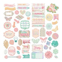 Чипборд Heaven Sent 2 Self-Adhesive Chipboard от Prima