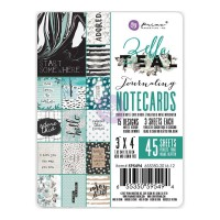 "Карточки Zella Teal Journaling Notecards 3""X4"" от Prima"