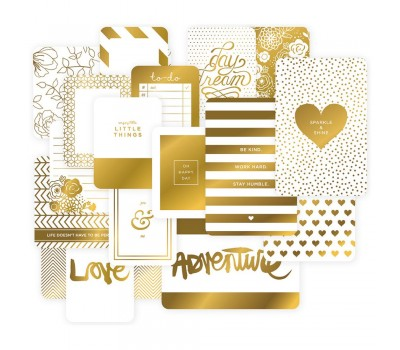 Набор карточек для Project Life Specialty Themed Cards Golden