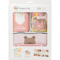 Набор для Project Life Lullaby Girl 120 шт